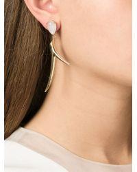 Shaun Leane | Metallic Moonstone Branch Earrings | Lyst