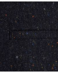 2nd Day - Blue Navy Boucle Wool Speckled Remi Trousers - Lyst