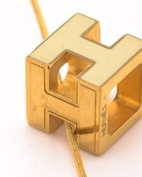 Hermès - Metallic HermãˆS Necklace - Lyst
