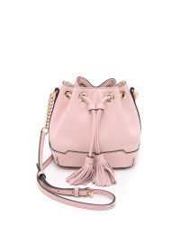 Rebecca Minkoff | Micro Lexi Bucket Bag - Baby Pink | Lyst