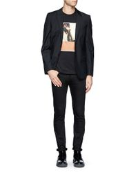 Givenchy - Black Burnt Polaroid Print T-shirt for Men - Lyst
