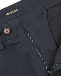Jaeger | Black Modern Chinos for Men | Lyst