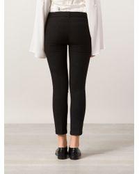 Ann Demeulemeester Blanche - Black Skinny Trousers - Lyst