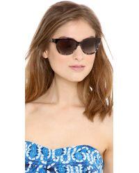 kate spade new york - Gray Brigit Sunglasses - Camel Tortoise/Brown Gradient - Lyst