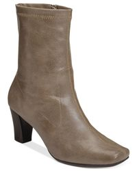 Aerosoles | Natural Geneva Dress Boots | Lyst