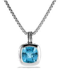David Yurman | Albion Pendant With Blue Topaz | Lyst