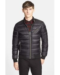 The Kooples - Black Quilted Down Jacket for Men - Lyst