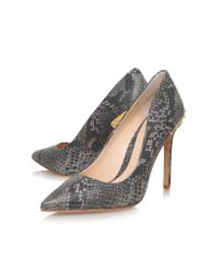 Vince Camuto | Gray Nalda High Heel Court Shoes | Lyst