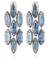 Stephen Dweck - Silver Blue Citrine Marquis Earrings - Lyst