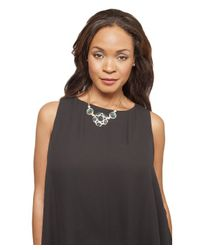 Kenneth Jay Lane | Blue Jemima Bib Necklace | Lyst