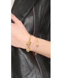 Amber Sceats | Metallic Knot Me Twice Bracelet | Lyst