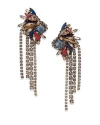 Erickson Beamon | Metallic Happily Ever After Earrings | Lyst