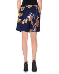 Erika Cavallini Semi Couture - Blue Shorts - Lyst
