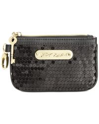 Betsey Johnson | Black Macy's Exclusive Boxed Sequin Coin Purse | Lyst