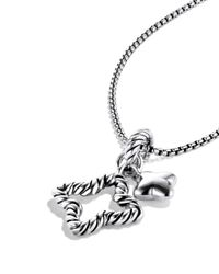David Yurman - Metallic Cable Collectibles Quatrefoil® Charm - Lyst