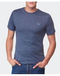 Vivienne Westwood - Blue Orb T-Shirt for Men - Lyst