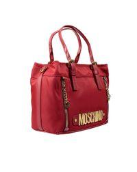 Moschino | Red Handbag | Lyst