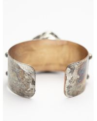 Free People | Metallic Mikal Winn Womens Shine And Stud Cuff | Lyst