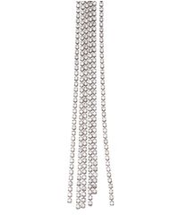 Vetements | Metallic Crystal Clip Earrings | Lyst