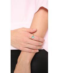 Alexis Bittar - Blue Mini Sphere Ring - Lyst