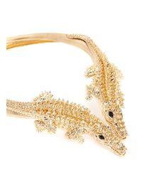 Giuseppe Zanotti | Metallic Alligator Choker Necklace | Lyst
