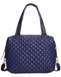 Steve Madden | Blue Bvoyagee Large Quilted Active Tote | Lyst