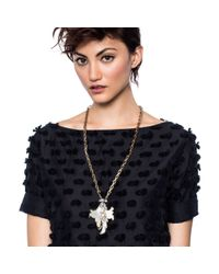 Lulu Frost - Metallic Nightshade Long Pendant - Lyst