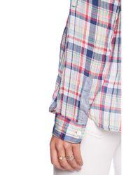 C&C California - Multicolor Plaid Pocket Button Up - Lyst