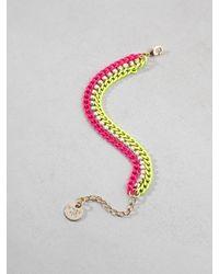 Patrizia Pepe | Pink Junk Jewelry Bracelet | Lyst