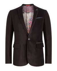 Ted Baker | Purple Velveto Velvet Blazer for Men | Lyst