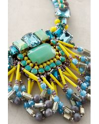 Anthropologie - Blue Kalahari Necklace - Lyst