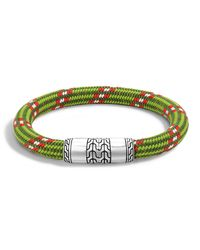 John Hardy   Natural Classic Chain Multicolor Cord Bracelet   Lyst