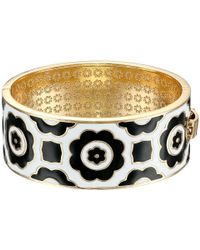 Vera Bradley | Black Wide Bangle | Lyst