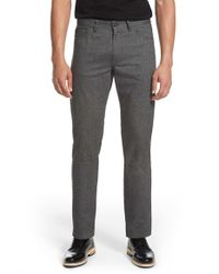 Theory - Gray 'haydin Je N Z' Straight Leg Pants for Men - Lyst