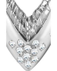 Venyx | Metallic 18k White Gold Parrot Star Fish Earrings | Lyst