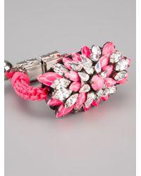 Shourouk - Pink 'baraka Sierra' Bracelet - Lyst