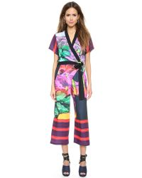 Clover Canyon | Multicolor Painted Garden Jumpsuit - Multi | Lyst
