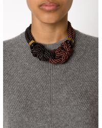 Lizzie Fortunato   Brown 'spirits For Sale' Necklace   Lyst