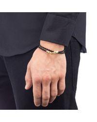 Lulu Frost - Black Leverage Wrap Bracelet - Lyst