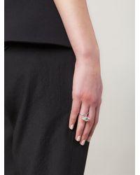 Lara Bohinc | Metallic 'eye' Ring | Lyst