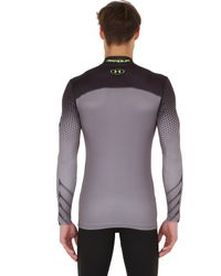 Under Armour - Gray Coldgear Compression Long Sleeve T-shirt for Men - Lyst