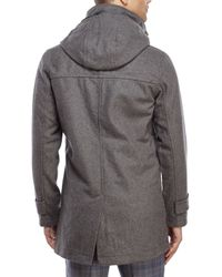 Moods Of Norway - Gray Per Dale Hooded Parka for Men - Lyst