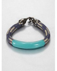 Orly Genger By Jaclyn Mayer - Multicolor Annabelle Enamel Dipped Rope Bracelet - Lyst