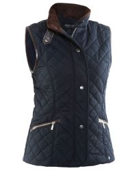 Abacus | Blue Hisingen Quilted Vest | Lyst