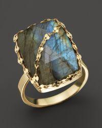 Lana Jewelry | Blue Lumos Labradorite Ring | Lyst