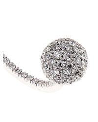 Delfina Delettrez | Metallic Diamond & Pearl Single Earring | Lyst