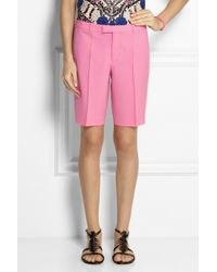 J.Crew - Pink Collection Eaton Stretch-Wool Shorts - Lyst