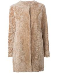 DROMe | Natural Reversible Coat | Lyst