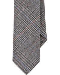 Todd Snyder - Gray Glen Plaid Jacquard Tie for Men - Lyst