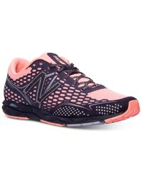 New Balance | Pink Women's Heidi Klum 1600 Running Sneakers From Finish Line | Lyst